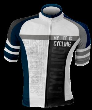 factory sport wear maglia estiva my live is cycling short sleeve jersey