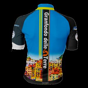 dietro maglia ciclismo ufficiale granfondo cinque 5 terre