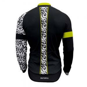 factory-sport-wear-abbigliamento-maglia-manica-lunga-da-ciclismo-bf1-bianco-nero-e-fluo-long-sleeve-jersey-bf1-black-and-white-fluo-dietro-back
